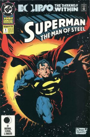 Superman Man of Steel Annual Vol 1 1