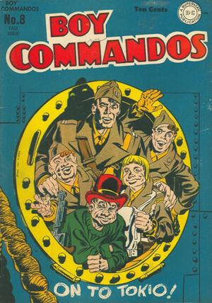 Boy Commandos Vol 1 8