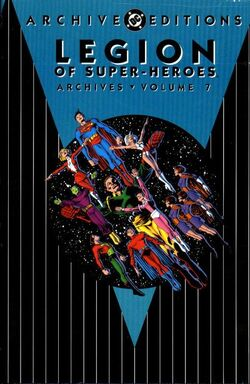 Cover for the Legion of Super-Heroes Archives Vol 1 7 Trade Paperback