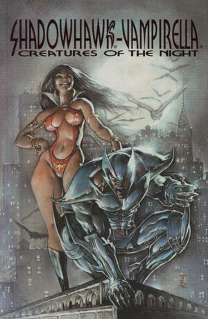 Cover for Creatures of the Night #2 (1995)