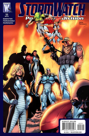 Stormwatch Post Human Division Vol 1 23