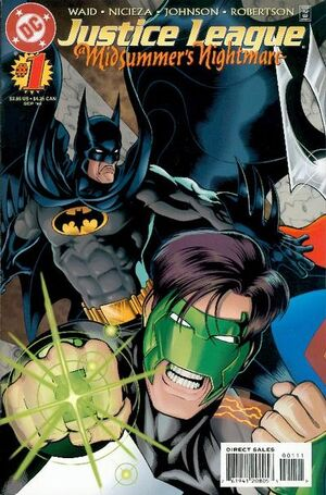 Justice League A Midsummer's Nightmare Vol 1 1