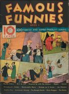 Famous Funnies Series 1 Vol 1 1