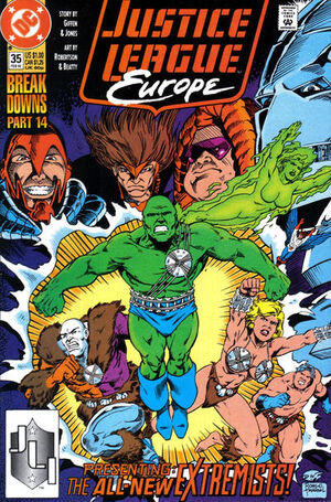 Justice League Europe Vol 1 35