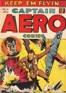 Captain Aero Comics Vol 1 4