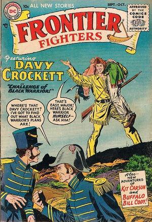 Frontier Fighters Vol 1 1