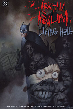 Cover for the Arkham Asylum: Living Hell  Trade Paperback