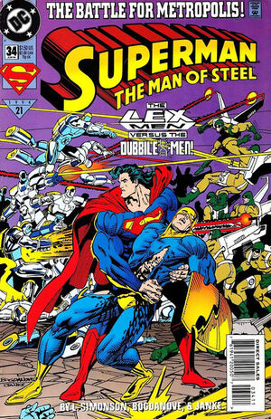 Superman Man of Steel Vol 1 34