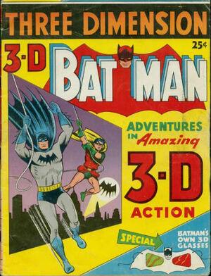 3-D Batman Vol 1 1