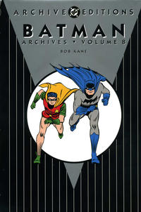 Cover for the Batman Archives Vol 8  Trade Paperback