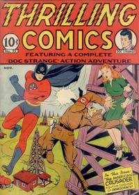 Thrilling Comics Vol 1 22