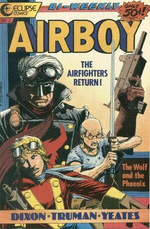 Cover for Airboy #2 (2015)