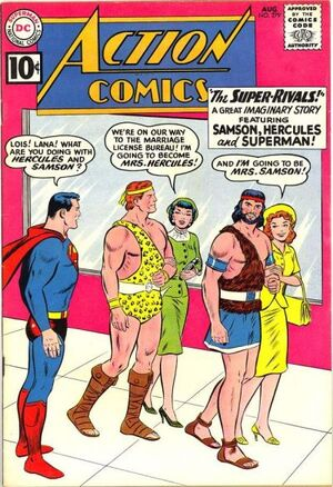 Action Comics Vol 1 279