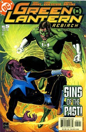 Green Lantern Rebirth Vol 1 5