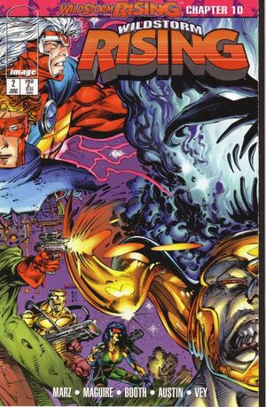 Cover for WildStorm Rising #2 (1995)