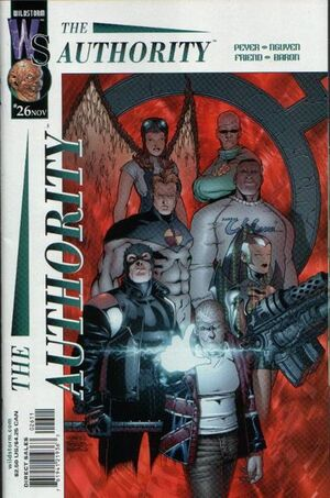 Cover for The Authority #26 (2001)