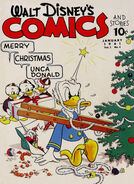 Walt Disney's Comics and Stories Vol 1 4