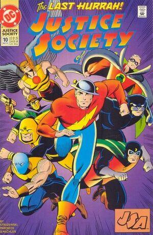 Justice Society of America Vol 2 10