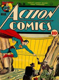 Action Comics Vol 1 34
