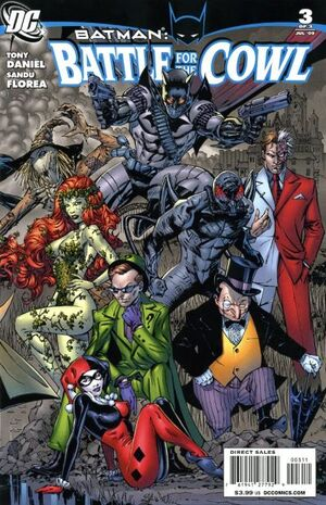 Batman Battle for the Cowl Vol 1 3