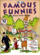 Famous Funnies Vol 1 34