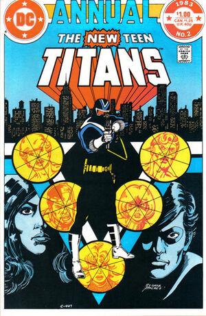 New Teen Titans Annual Vol 1 2