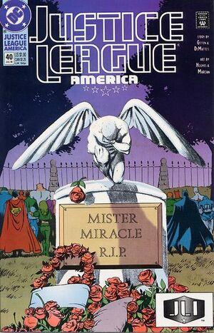 Justice League America Vol 1 40