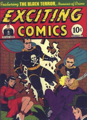 Exciting Comics Vol 1 12