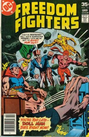 Freedom Fighters Vol 1 12