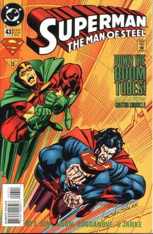 Superman Man of Steel Vol 1 43