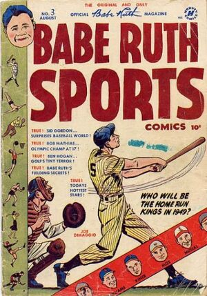 Babe Ruth Sports Comics Vol 1 3