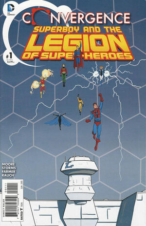 Convergence Superboy and the Legion of Super-Heroes Vol 1 1