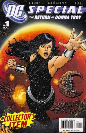 DC Special Return of Donna Troy Vol 1 1
