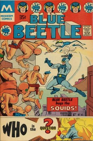 Blue Beetle Vol 5 1-B