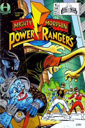 Saban's Mighty Morphin Power Rangers Vol 2 1