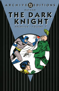 Cover for the Batman: The Dark Knight Archives Vol 7  Trade Paperback