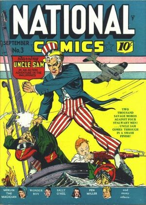 National Comics Vol 1 3