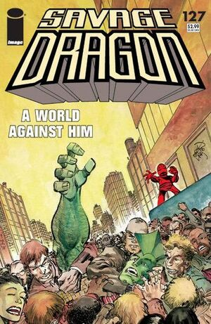 Cover for Savage Dragon #127 (2006)