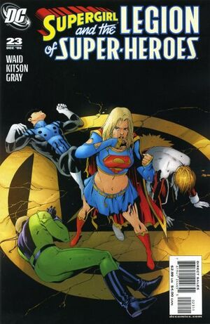 Supergirl and the Legion of Super-Heroes Vol 1 23