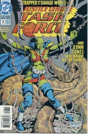 Justice League Task Force Vol 1 8