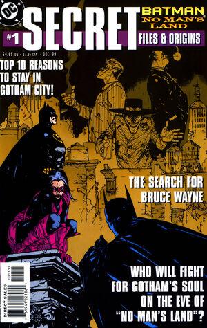 Batman No Man's Land Secret Files and Origins Vol 1 1