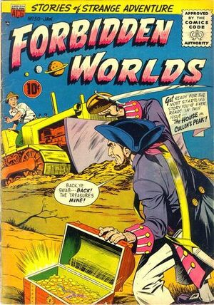 Forbidden Worlds Vol 1 50