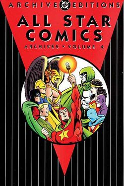 Cover for the All-Star Comics Archives Vol 1 4 Trade Paperback