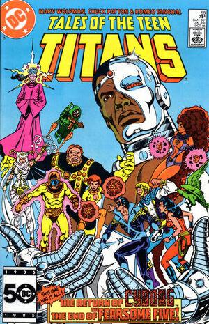 Tales of the Teen Titans Vol 1 58