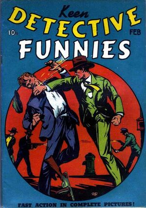 Keen Detective Funnies Vol 1 6