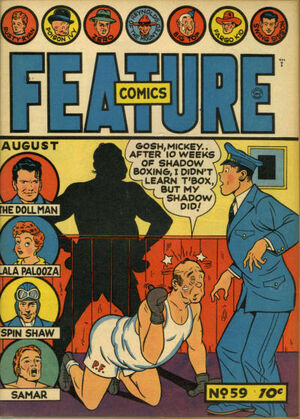 Feature Comics Vol 1 59