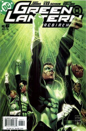 Green Lantern Rebirth Vol 1 6
