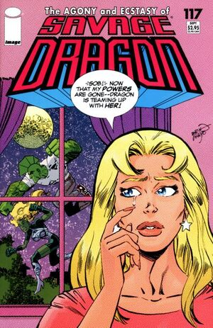 Cover for Savage Dragon #117 (2004)