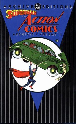Action Comics Archives Vol 1 1