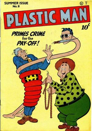 Plastic Man Vol 1 8